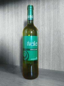 Botella de Rivalia Tempranillo Blanco